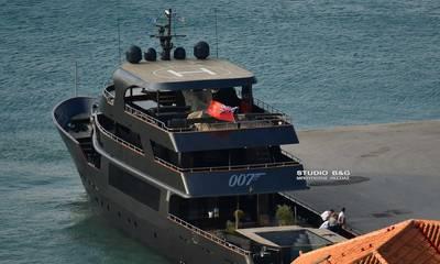 Η υπερπολυτελής θαλαμηγός του «007» στο Ναύπλιο (photos)