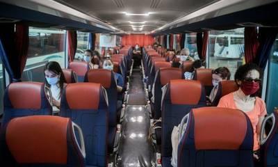 Τι ισχύει για τα rapid test των επιβατών σε αστικά ΚΤΕΛ