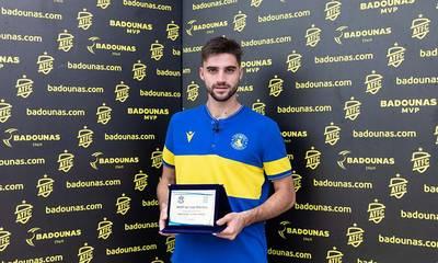 Badounas MVP Of The Match: Η βράβευση του David Carmona (video)
