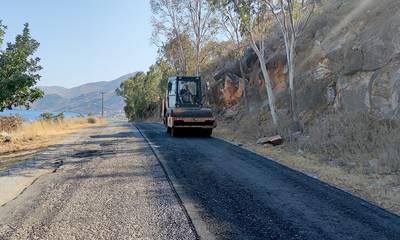 «Βελτιώνεται το επαρχιακό οδικό δίκτυο του Δήμου Ανατολικής Μάνης»