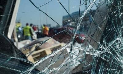 Τροχαίο με ανατροπή αυτοκινήτου στην Κορίνθου – Πατρών (photos)