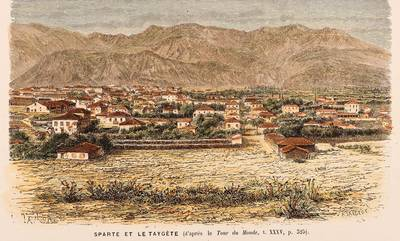 Η ζωή στη Σπάρτη, στα 1876