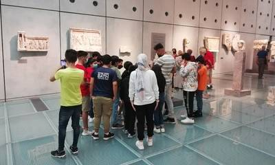 Επίσκεψη στο Νέο Μουσείο της Ακρόπολης παιδιών του «ESTIA 2021»