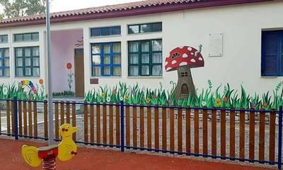 Τοιχογραφίες της Κυριακής Λεμπέση σε σχολεία Αρεόπολης και Γλυκόβρυσης (photos)