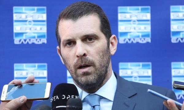 Παραιτήθηκε από την προεδρία της Super League ο μανιάτης  Λεωνίδας Μπουτσικάρης