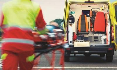 Θανατηφόρο τροχαίο με έναν νεκρό στη Ε.ΟΤρίπολης-Σπάρτης