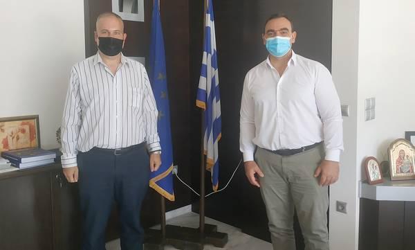 Με τους Γεωργιτσιάνους της Αττικής ο Βερούτης, στο Διοικητήριο της Π.Ε. Λακωνίας