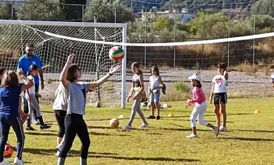 Γιόρτασαν την 8η ΠανελλήνιαΗμέρα Σχολικού Αθλητισμού στο Ξηροκάμπι, Σπάρτης
