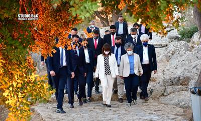 Κατερίνα Σακελλαροπούλου: Στο Ναύπλιο η Πρόεδρος της Ελληνικής Δημοκρατίας (photos)