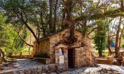 Το εκκλησάκι της Αγίας Θεοδώρας με τα 17 δέντρα στη στέγη της!