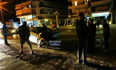 Σοβαρό τροχαίο με τραυματία στο Ναύπλιο (photos)