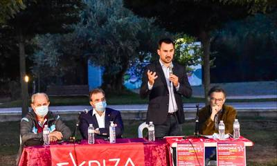 Ολοήμερη περιοδεία στη Λακωνία από τον Σταύρο Αραχωβίτη και τον Αλέξη Χαρίτση (photos)