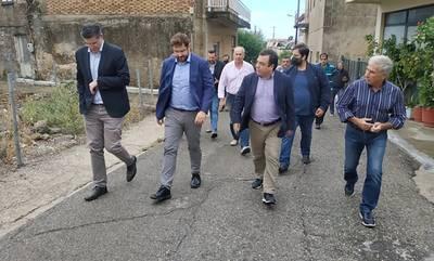 Πύργος: Συνάντηση Αντωνακόπουλου με τον τομεάρχη Εσωτερικών του ΣΥΡΙΖΑ-ΠΣ Κώστα Ζαχαριάδη
