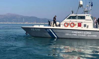 80χρονος σώθηκε από το Λιμενικό στη θάλασσα της νησίδας Σχίζα
