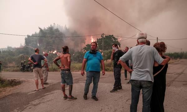 Λακωνία: Συγκέντρωση διαμαρτυρίας πυρόπληκτων αγροτοκτηνοτρόφων στο Γύθειο