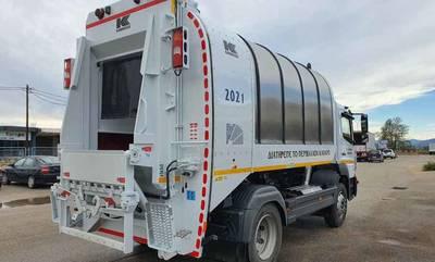 Eνισχύεται με νέα οχήματα ο στόλος απορριμματοφόρων του Δήμου Άργους