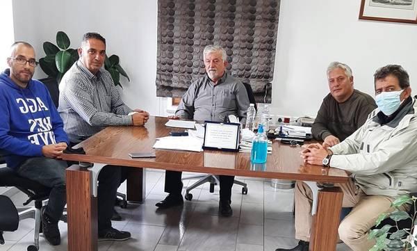 Συνάντηση του Δημάρχου Μεγαλόπολης με σωματεία των εργαζομένων της ΔΕΗ