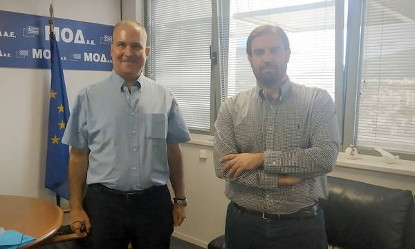 Με τον διαχειριστή των Ευρωπαϊκών Προγραμμάτων στην Ελλάδα συναντήθηκε ο Χρήστος Τσίχλης