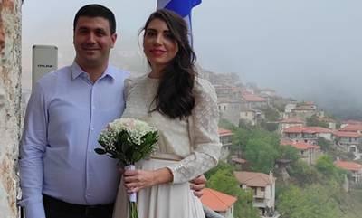 Παντρεύτηκαν με τις ευλογίες του… δήμαρχου, στη Δημητσάνα
