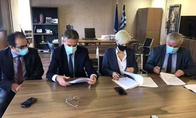 Μνημόνιο Συνεργασίας για την Ανέγερση Πρότυπου Ανοιχτού Καταστήματος Κράτησης στη Μεγαλόπολη