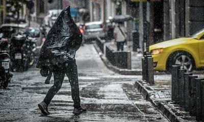Ισχυρές καταιγίδες σε όλη τη χώρα  - Σε εξέλιξη το νέο κύμα κακοκαιρίας «Μπάλλος»
