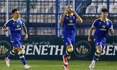 Απόλλων Σμύρνης-Αστέρας Τρίπολης 0-1: Πρώτη νίκη για τους Αρκάδες