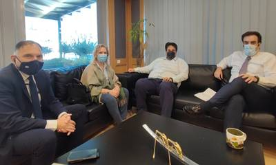 Συνάντηση με Πιερρακάκη και Λιβάνιο για τοπικά θέματα της Λακωνίας