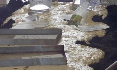 Πάτρα: Φούρναρης γέμισε κοπριά το μαγαζί του επειδή «έφαγε» πρόστιμο για μάσκα (photos)