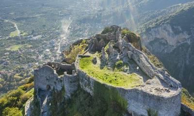 Μυστράς: Η βυζαντινή καστροπολιτεία από ψηλά
