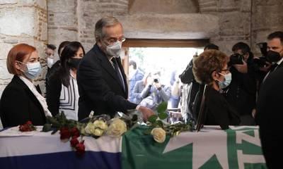 Αντώνης Σαμαράς για Φώφη Γεννηματά: Σήμερα είναι μια βαριά μέρα για όποιον καταλαβαίνει