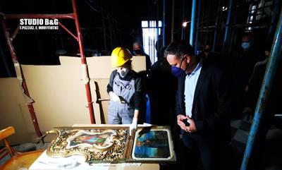 Στο Ναύπλιο ο Γενικός Γραμματέας του Υπουργείου Πολιτισμού Γιώργος Διδασκάλου (photos - video)